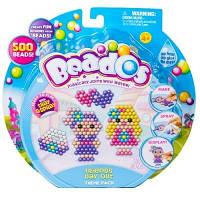 Beados.  Игровой набор аквамозаики из бусинок – ДЕНЬ С ДРУЗЬЯМИ (500 бусинок, спрей, шаблоны, аксессуары) (10773)