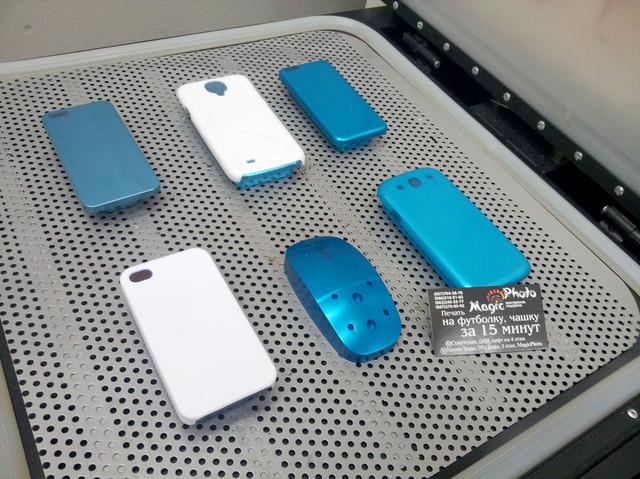 3D печать на чехлах для iphone, ipad, ipod, samsung, lenovo, htc, lg