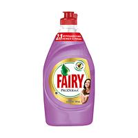 "Fairy. Средство для мытья посуды ProDerma ""Шёлк и Орхидея"", 450мл (992509)"