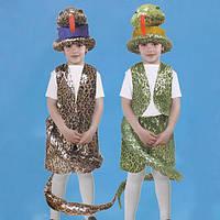 Маскарадный костюм Змея коричневая (размер М), фото 1