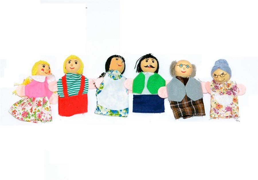 Набор кукол кукольный театр (6 кукол)