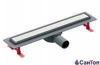 Трап для душа под плитку Valtemo Euroline Trendy 50 80 cm (боковой выход)