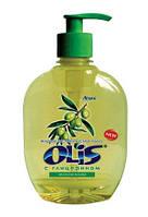 Мыло жидкое Olis 300мл Зеленая олива дозатор