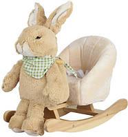 """Rock My Baby. Детское кресло - качалка """"Кролик"""" 3в1, 18мес+ (JR2501)"""