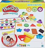 """Play-Doh. Игровой набор c пластилином """"Цвета и формы"""" (B3404)"""