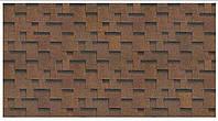 Шинглас Кадриль аккорд (коричневый) упак. 3 кв.м