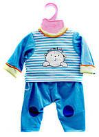 Одежда для пупса BJ-J001-4 подходит для всех пупсов Бебеи Борн высотой 42 см Royaltoys