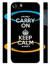 Чехол для iPhone 5/5s Carry on keep calm and