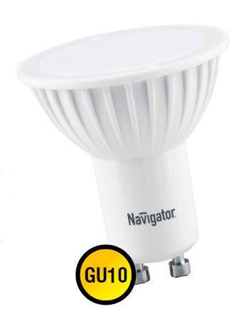 Лампа светодиодная NLL PAR16 5W 4000K 230В GU10 NAVIGATOR