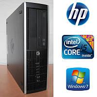 HP 8200 Elite SFF - Intel Core i5-2400 4x3.1GHz/ 4GB DDR3/ 500GB HDD Системный блок, Компьютер, ПК