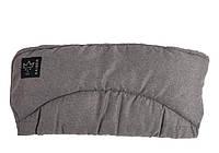 Kaiser. Муфта утепленная для рук на коляску Alaska антрацит меланж (65697324)