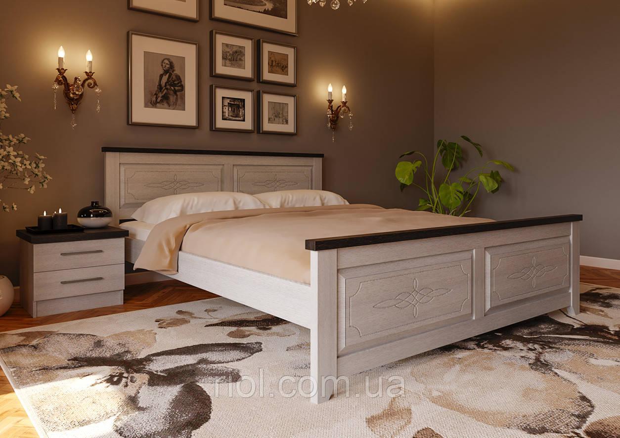 Кровать деревянная двуспальная Майя Нью
