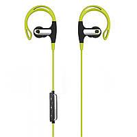 Беспроводные наушники Romix S2 Sport Wireless Headphone Green-Black