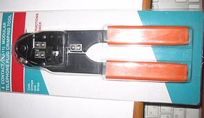 Обжимний інструмент / обтиск RJ-11(4P4C)