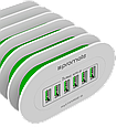 Зарядное устройство Promate myCharge-6 White, фото 4
