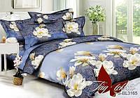 2-спальный Комплект постельного белья 3D Полисатин ТМ TAG PS-BL3165