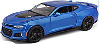 Автомодель Maisto (1:24) 2015 Chevrolet Camaro ZL1 Синий металлик (31512 met. blue)