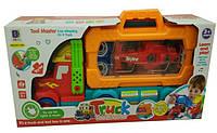 661-194 Машинка-конструктор с кейсом для инструментов