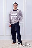 Теплый мужской костюм для дома Бамбук Sofi Sof 10869