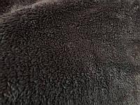 Ткань Махра Велсофт цвет темно серыйширина 200 см