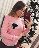 Красивый женский свитер (разные цвета)
