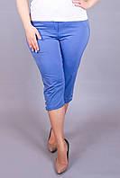 Капри большого размера Лето джинс