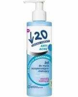 Очищающий гель для лица Anti Acne, 200 мл, Under Twenty, Lirene