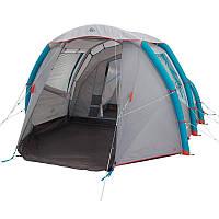 Палатка семейная для кемпинга 4-местная Air seconds family 42739 I Quechua