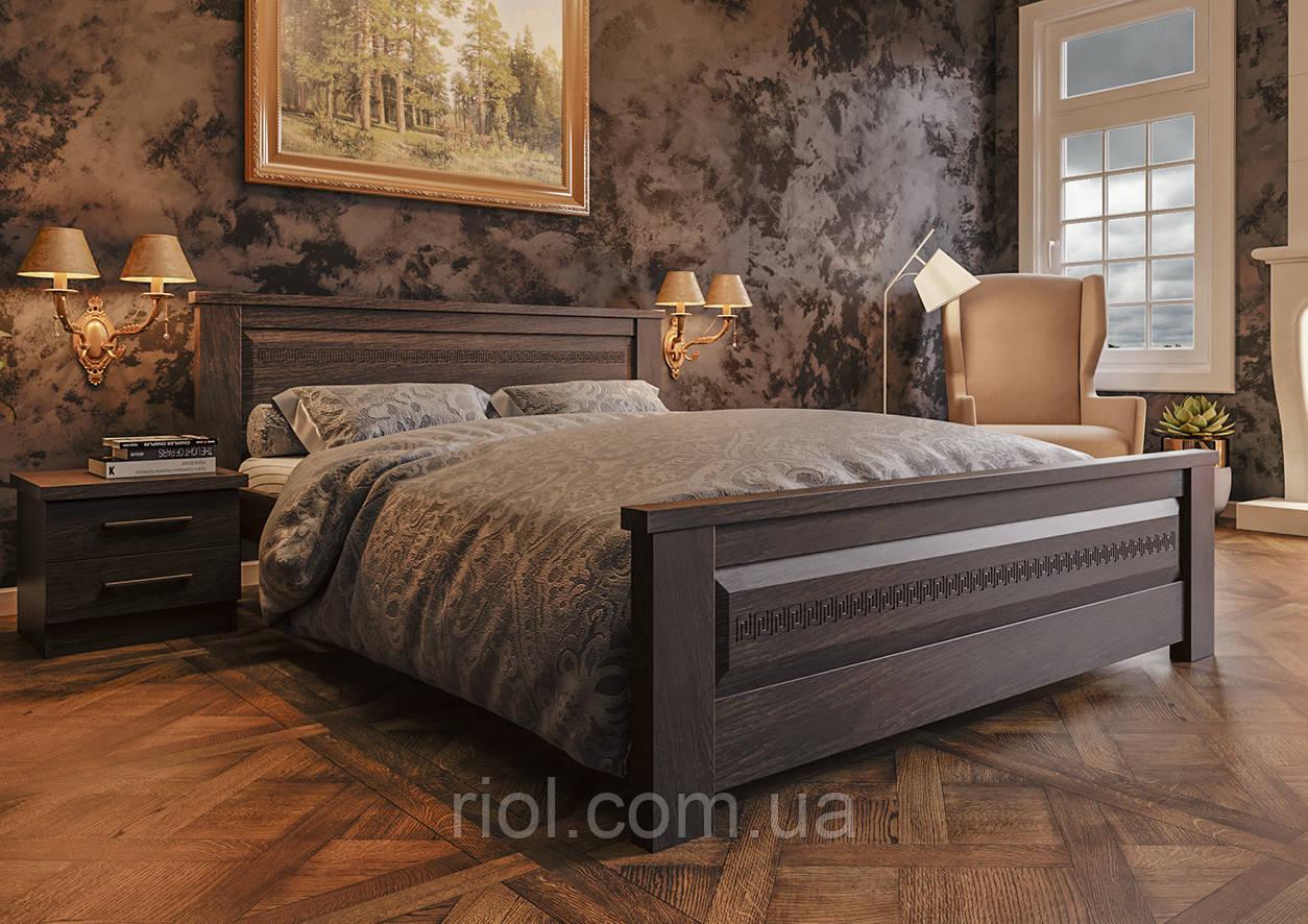 Кровать деревянная двуспальная Элит Нью