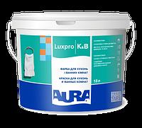 Краска для кухонь и ванных комнат AURA K&B, А (белая), 10л