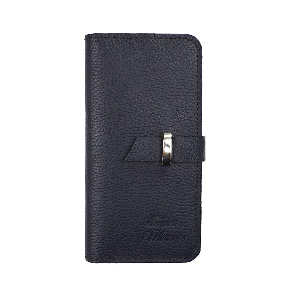 62e68a6c1108 Кожаный кошелек Empire Leather Craft (J Casual) Темно-синий: продажа ...