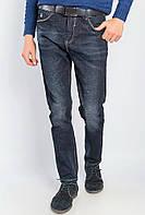 Мужские джинсы с большими карманами черного цвета. АРТ- 682K002.5