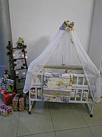 """Детское постельное белье 9 в 1 """"Сафари"""", бежевый"""