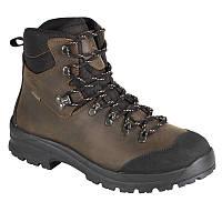 AIGLE FLESHSIDE MTD hunting BOOTS - dark brown