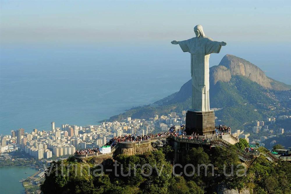 Бразильское Тепло - экскурсионный тур по Бразилии 12 дней /11 ночей