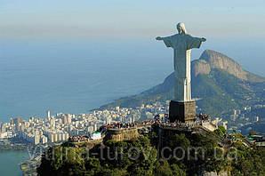 Бразильське Тепло - екскурсійний тур по Бразилії 12 днів /11 ночей