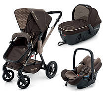 Коляска 3 в 1 Concord Wanderer Travel Set Chocolate brown коричневая