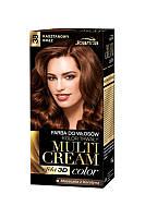 Joanna Multi Cream Color - Краска для волос - 38 каштаново - красный  40 мл