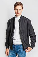 Куртка американка/бомбер мужская. (Черный). Арт-665K003.5