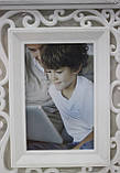 Рамка для фотографий - фото-коллаж белый для 3-х фото, размер 49смХ24см, фото 2