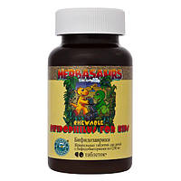 Bifidophilus Chewable for Kids Бифидозаврики - жевательные таблетки с бифидо- и лактобактериями для детей