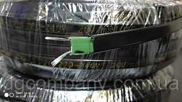 Саморегулирующийся кабель Minco Heat  для обогрева труб, водостоков,теплиц 8 мм,