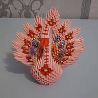 Hand-made 3D origami lebid1