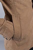 Демисезонная мужская куртка-пиджак. (Бежевый). Арт-19PG058.5
