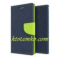 Чехол Book Cover Goospery Huawei Y3 II Blue