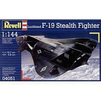 Сборная модель Revell Истребитель-невидимка F-19 Stealth Fighter 1:144 (4051)