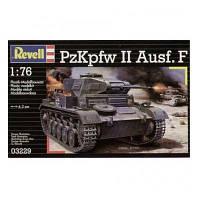 Сборная модель Revell Танк Panzer II Ausf.F 1:76 (3229)