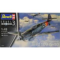 Сборная модель Revell Самолет Messerschmitt Bf109 G-10 1:48 (3958)