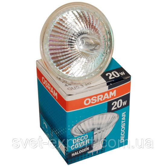Лампа Osram 44860 WFL 20W GU5.3 12V 38грд. закрита галогенна