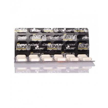Аминокислота  BCAA Mega Caps blister Olimp Labs 120капс, фото 2